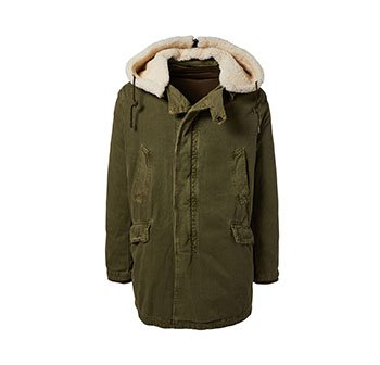 Holt Renfrew image of YVES SALOMON - ARMY. Parka With Shearling Hood