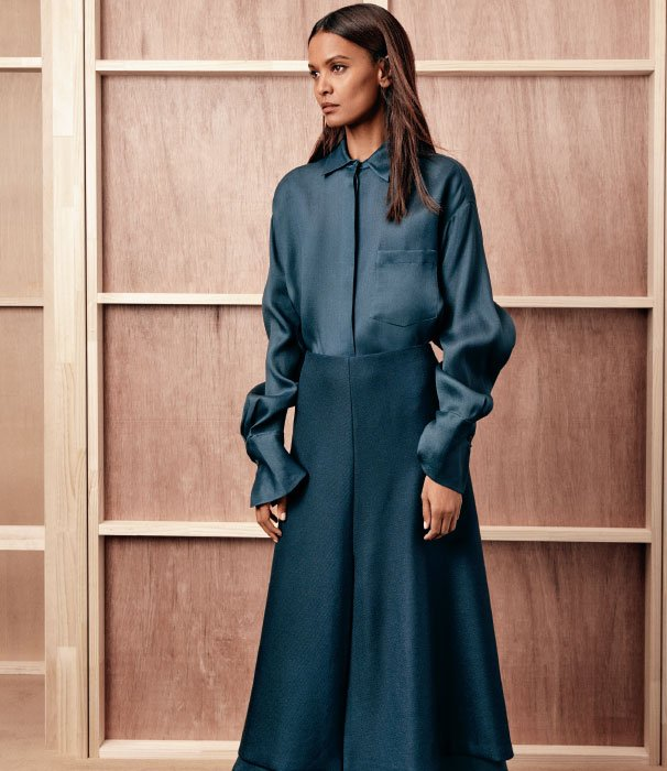 Holt Renfrew image of The serene seduction of The Row, now online. SHOP THE ROW