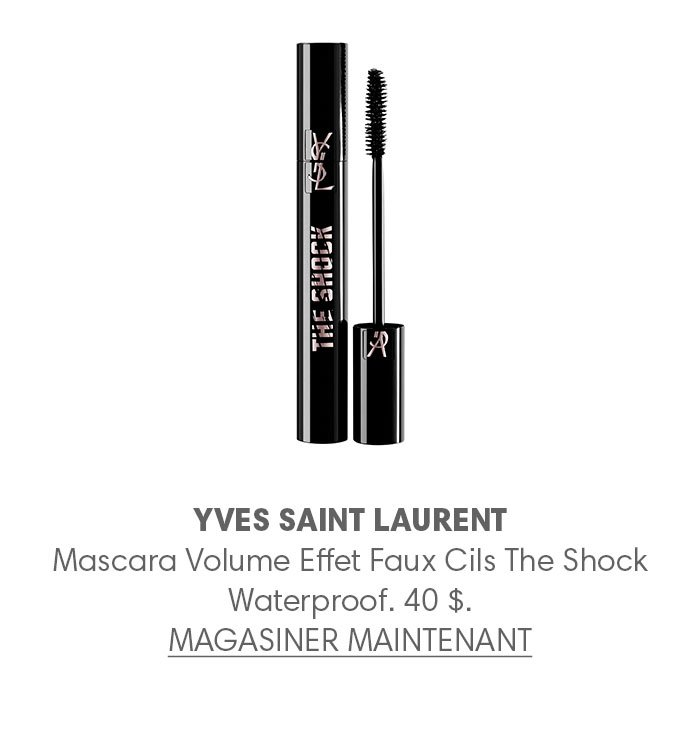 Holt Renfrew Image of YVES SAINT LAURENT Mascara Volume Effet Faux Cils The Shock Waterproof. 40 $.