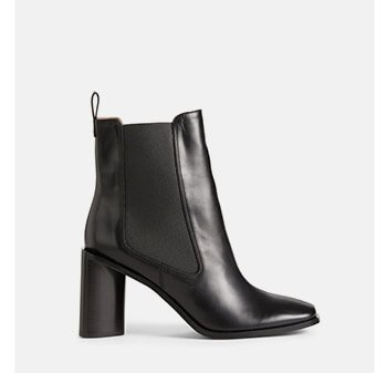 Holt Renfrew image of ACNE STUDIOS. Bethany Leather Ankle Boots. SHOP NOW