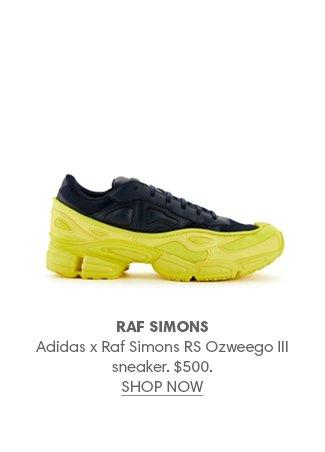 Holt Renfrew image of RAF SIMONS Adidas x Raf Simons RS Ozweego III sneaker. $500. SHOP NOW