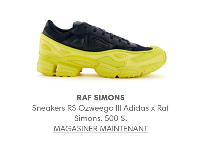 Holt Renfrew image d'un RAF SIMONS Sneakers RS Ozweego III Adidas x Raf Simons. 500 $. MAGASINER MAINTENANT