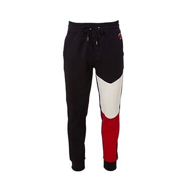 Holt Renfrew image of MONCLER Pantalon molletonné à contraste de couleurs. 480 $.