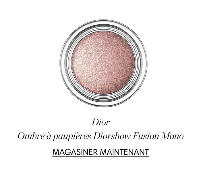 Holt Renfrew image d'un DIOR. Ombre à paupières Diorshow Fusion Mono. MAGASINER MAINTENANT