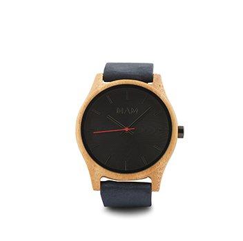 Holt Renfrew image of MAM ORIGINALS. Certified bamboo Quail leather strap watch. $135. SHOP MAM ORIGINALS