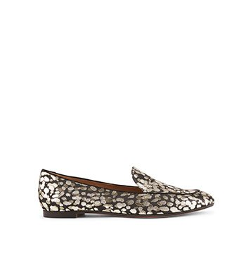 Holt Renfrew image of AQUAZURRA Purist Moccasins In Cheetah Print. $745.