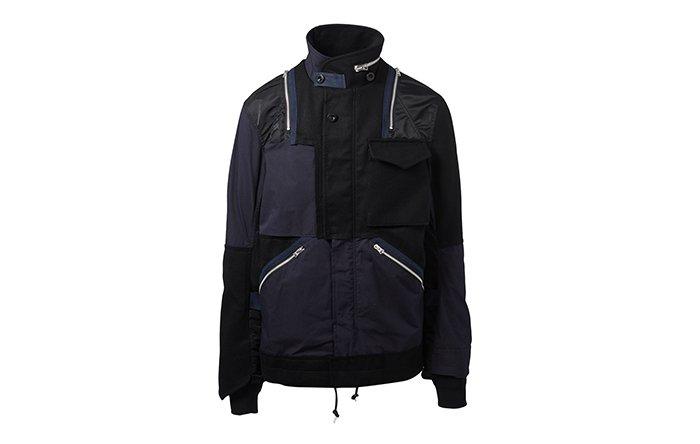 Holt Renfrew image d'un SACAI veste multimatière. 1 665 $. EN MAGASIN