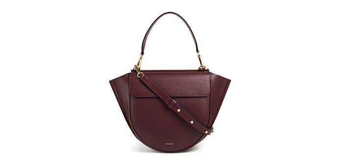 Holt Renfrew image of Holts Exclusive WANDLER Hortensia Medium Leather Shoulder Bag. $950. SHOP NOW