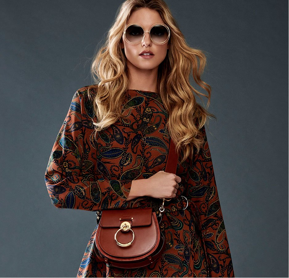 Holt Renfrew image of Play up your free-spirited vibe with the best of Chloé handbags. SHOP CHLOÉ