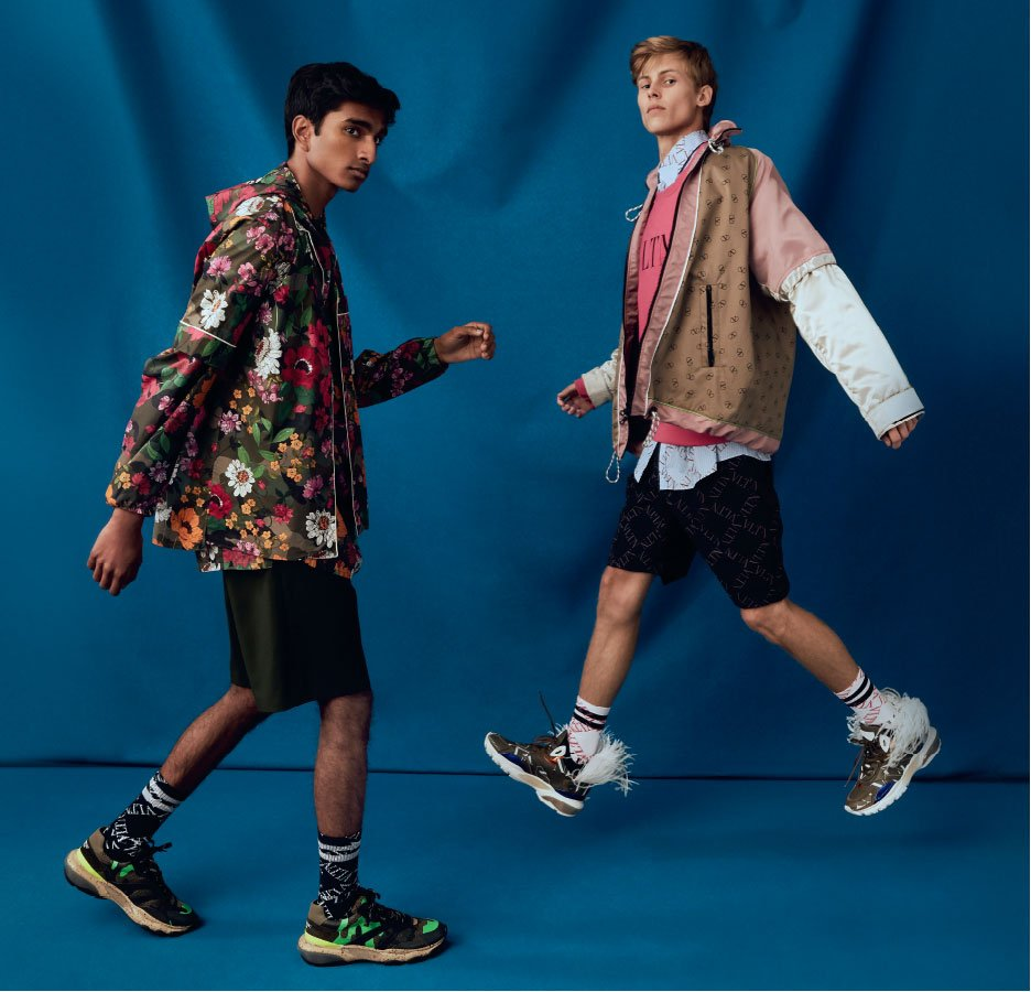 Holt Renfrew image of The season's colour and pattern trend lands with a graphic punch. READ AND SHOP