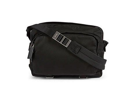 Holt Renfrew image of PRADA Nylon Crossbody Bag. $1270. SHOP NOW