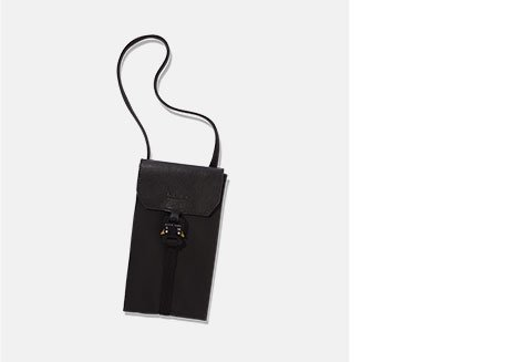 Holt Renfrew Image of 1017 ALYX 9SM . Phone buckle bag. $485. FIND YOUR STORE