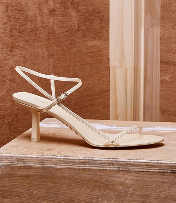 Holt Renfrew image of Keep it light with stunning white shoes for Summer. SHOP SHOES