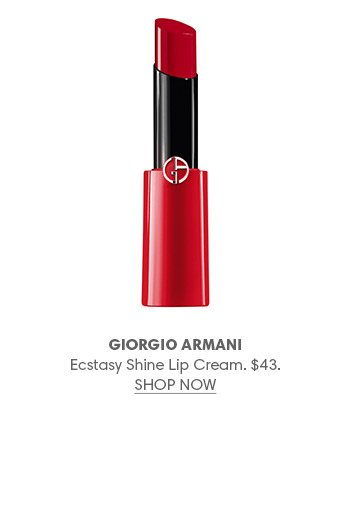 Holt Renfrew Image of GIORGIO ARMANI Ecstasy Shine Lip Cream. $43.