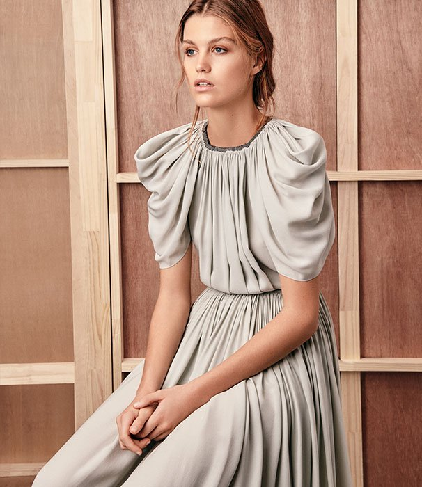 Holt Renfrew image of The Row's new masterclass in timeless yet modern clothes. READ AND SHOP