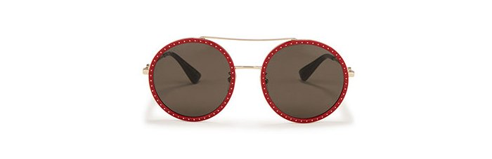 Holt Renfrew Image of GUCCI Round Sunglasses. $580.
