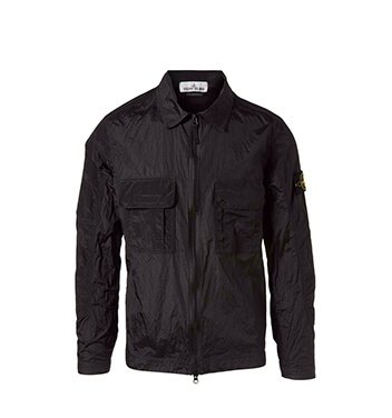 Holt Renfrew image of STONE ISLAND Nylon Metal Shirt Jacket. $525. FIND IN-STORE
