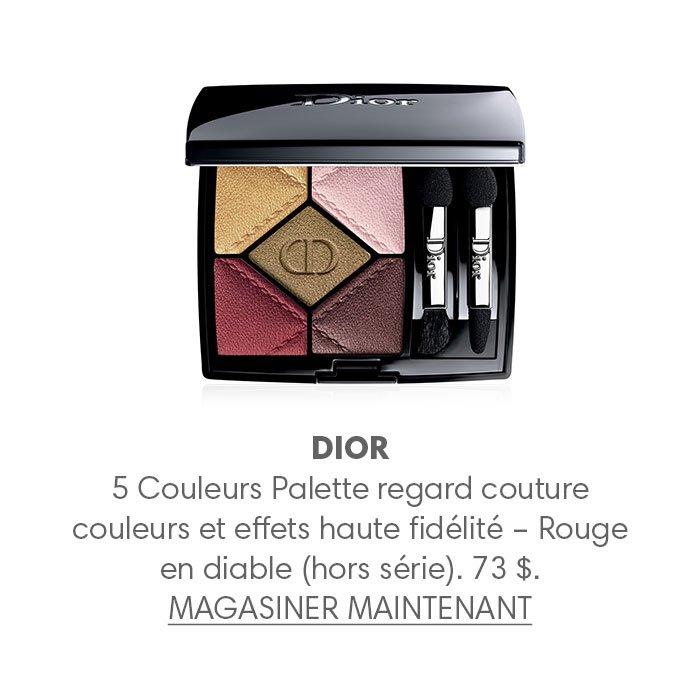 Holt Renfrew Image of DIOR 5 5 Couleurs Palette regard couture couleurs et effets haute fidélité – Rouge en diable (hors série). 73 $.