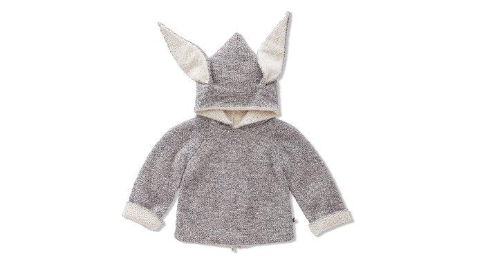Holt Renfrew image of OEUF. Alpaca wool bunny reversible sweater. $165. SHOP ŒUF