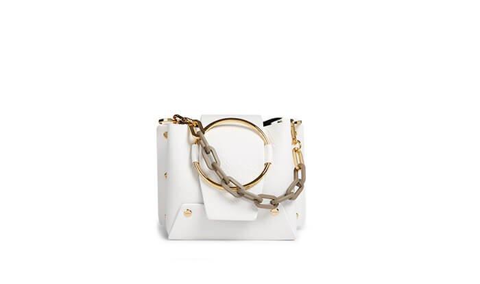Holt Renfrew image of YUZEFI Mini Delila Leather Crossbody Bag. $675. SHOP NOW