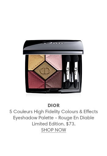 Holt Renfrew Image of DIOR 5 Couleurs Palette regard couture couleurs et effets haute fidélité – Rouge en diable (hors série). 73 $.
