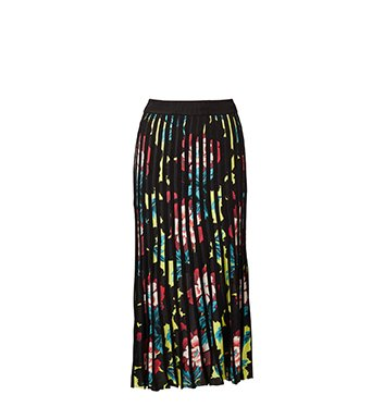 Holt Renfrew image of KENZO Pleated Skirt In Floral Print. $570.
