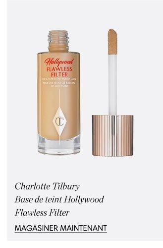 Holt Renfrew image d'un CHARLOTTE TILBURY. Base de teint Hollywood Flawless Filter. MAGASINER MAINTENANT