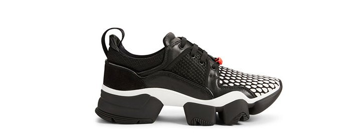 Holt Renfrew image of GIVENCHY Jaw Leather And Neoprene Sneakers. $1065. SHOP NOW