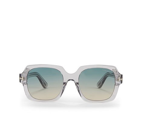 Holt Renfrew Image of TOM FORD  Autumn Square Sunglasses. $465.