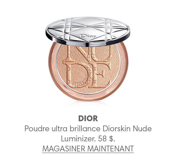 Holt Renfrew Image of DIOR Poudre ultra brillance Diorskin Nude Luminizer. 58 $.