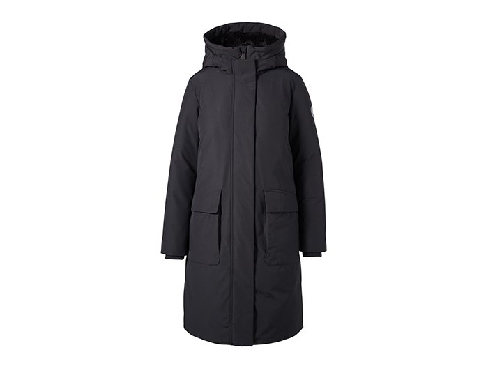 Holt Renfrew image d'un SAVE THE DUCK. Parka végétalien Arctic à capuche en similifourrure pour femmes. 698 $. MAGASINER SAVE THE DUCK