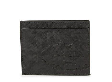 Holt Renfrew image of PRADA Leather Card Holder. $320. SHOP NOW