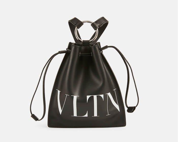 Holt Renfrew image of VALENTINO GARAVANI. VLTN Leather Pouch. SHOP NOW
