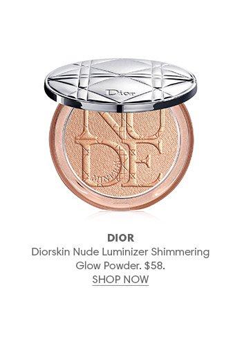 Holt Renfrew Image of DIOR Diorskin Nude Luminizer Shimmering Glow Powder. $58.