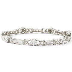 2 CT. T.W. Diamond Tennis Bracelet 10K Gold