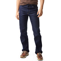 Lee® Regular-Fit Straight-Leg Stretch Jeans