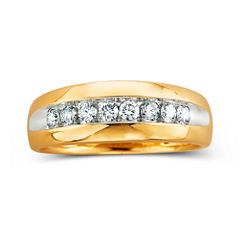 Mens Diamond Band, 1/2 CT. T.W.