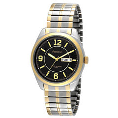 Armitron All Sport Mens Two Tone Strap Watch-20/4591bktt