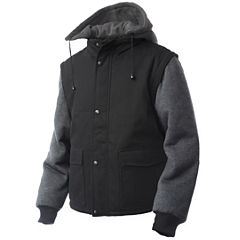 Tough Duck™ Work Jacket with Zip-Off Sleeves
