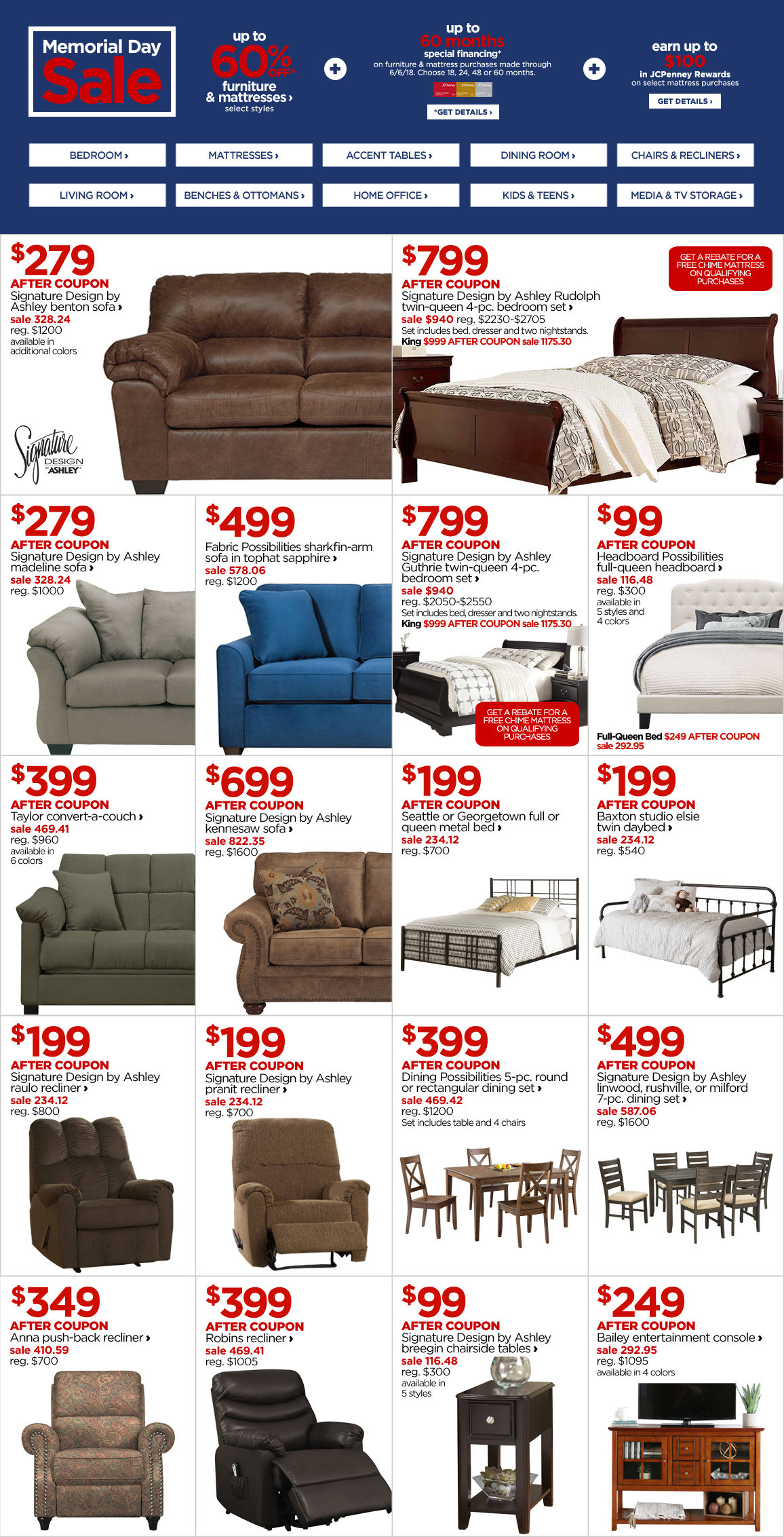 Furniture Store Near Me, Shop Bedroom, Living & Dining Room Sets at ...