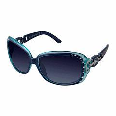 South Pole Full Frame Rectangular UV Protection Sunglasses-Womens