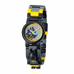 Lego The Lego Batman Movie Batman Boys Multicolor Strap Watch-8020837