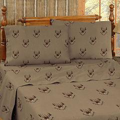 Blue Ridge Trading Whitetail Ridge Sheet Set Twin Cotton Sheet Set