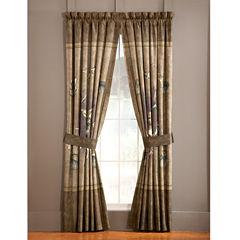 Blue Ridge Trading Whitetail Ridge 2-Pack Curtain Panels