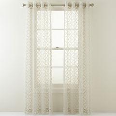 Royal Velvet® Toretta Grommet-Top Curtain Panel