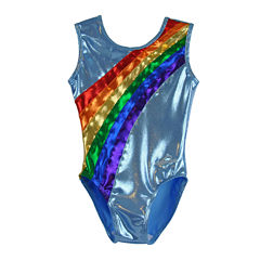 Obersee Rainbow Gymnastics Leotard - Girls XXS-L