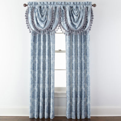 royal velvet supreme damask pinch pleatback tab window treatments