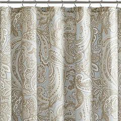 Madison Park Pure Dermot Cotton Shower Curtain