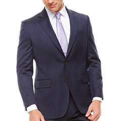 Stafford Stripe Classic Fit Suit Jacket