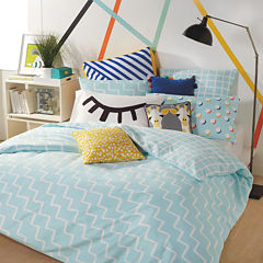 Scribble Zig Zag Duvet Cover Set